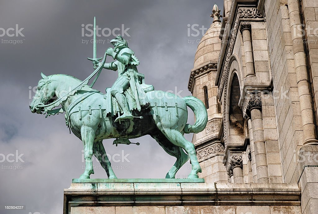 Jeanne d'Arc. royalty-free stock photo
