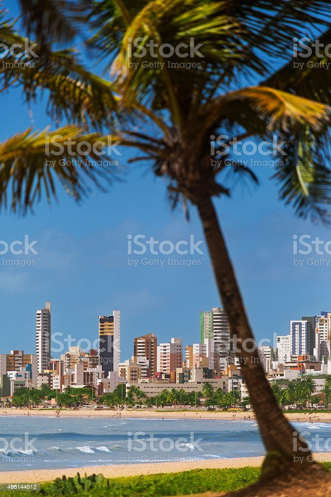 Joao Pessoa, capital of Paraiba State in Brazil stock photo