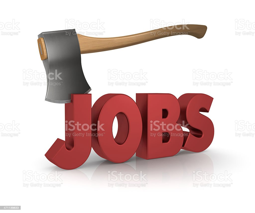 Job Cuts royalty-free stock photo