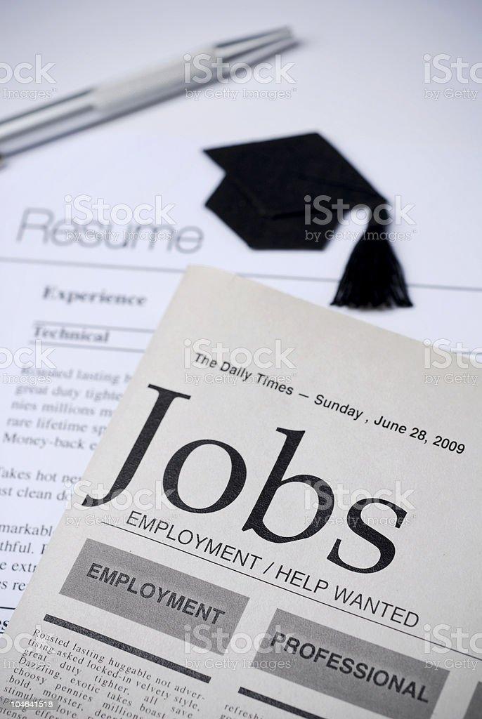 Job Hunt royalty-free stock photo