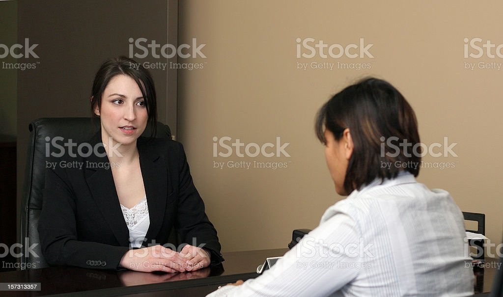 Job Interview royalty-free stock photo