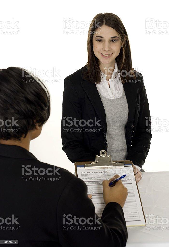 Job Interview royalty-free stock photo