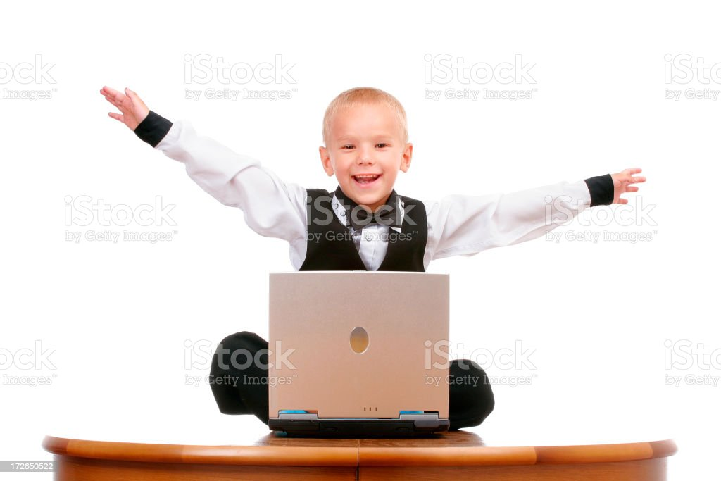 Job is done!!! royalty-free stock photo