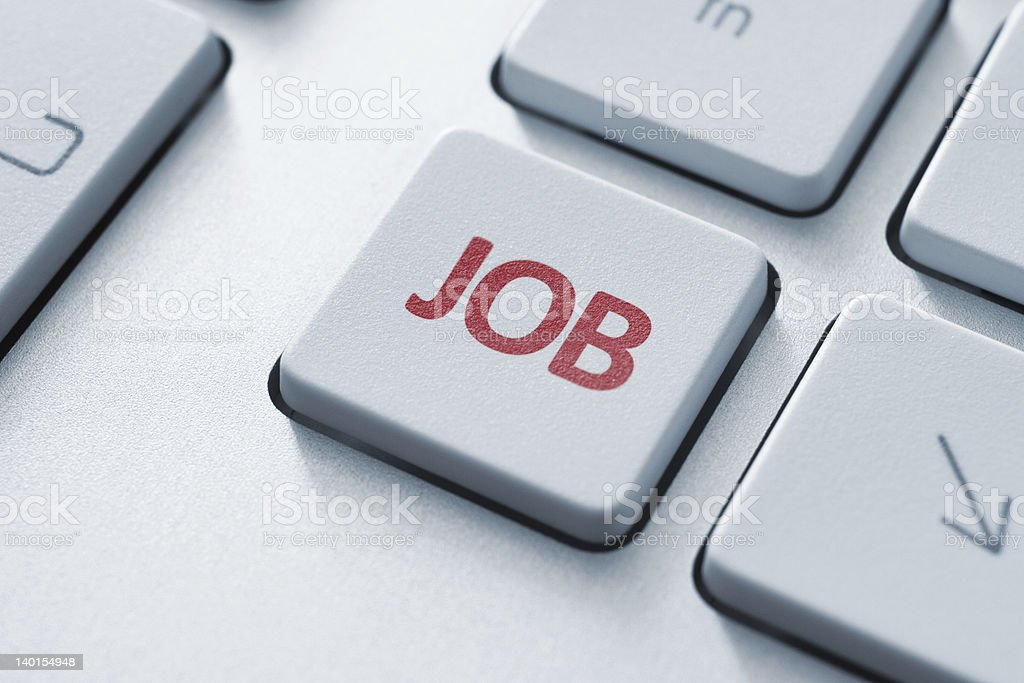 Job Key royalty-free stock photo