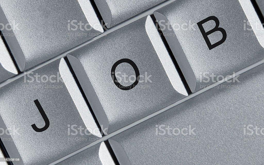Job keys royalty-free stock photo