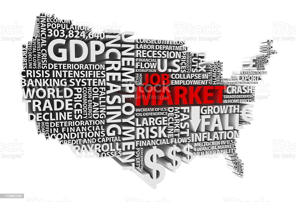 Job Market stock photo
