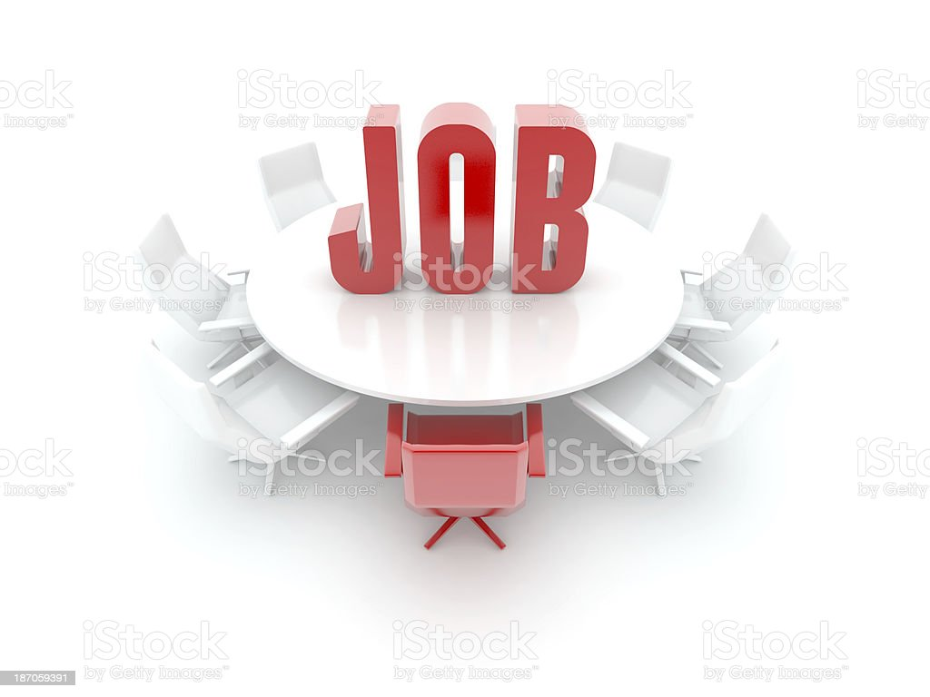Job Searching royalty-free stock photo