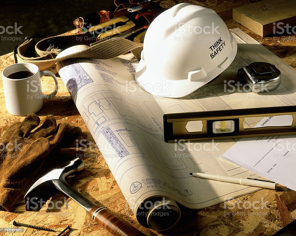 Job site. royalty-free stock photo