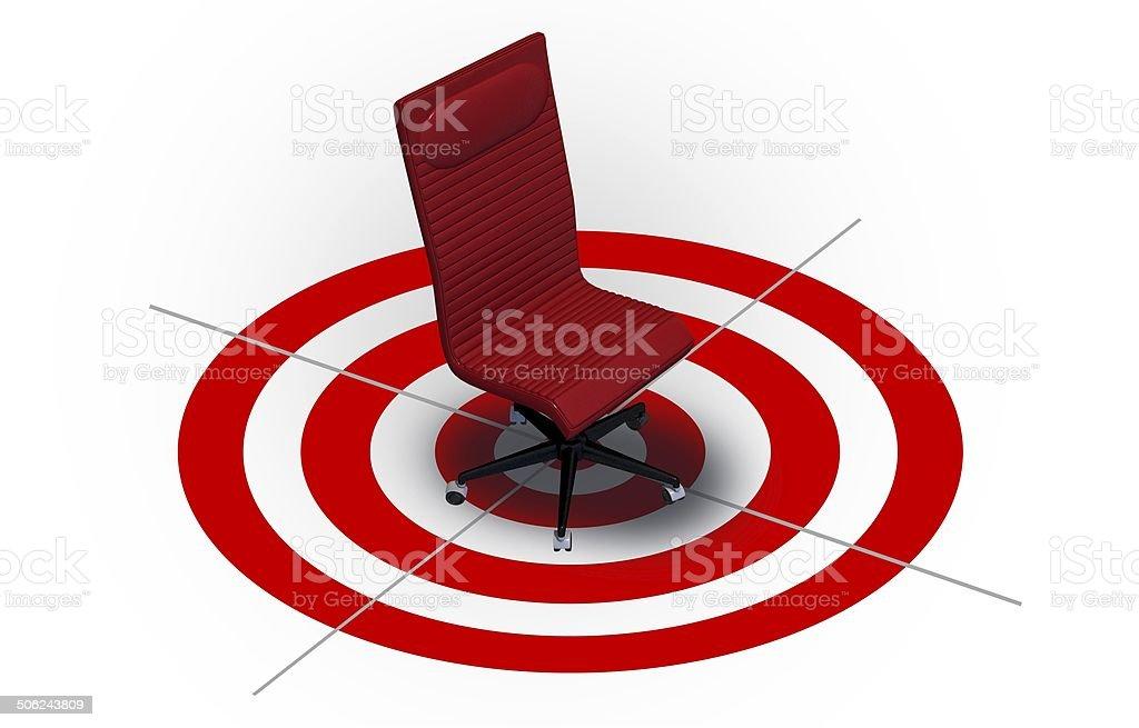 Job Targeting Career Concept stock photo