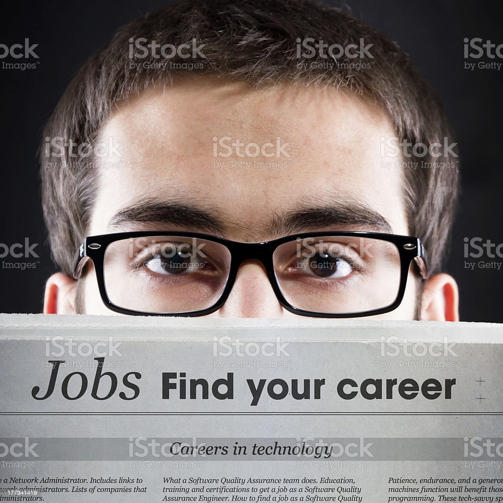 Jobs, Find your career stock photo