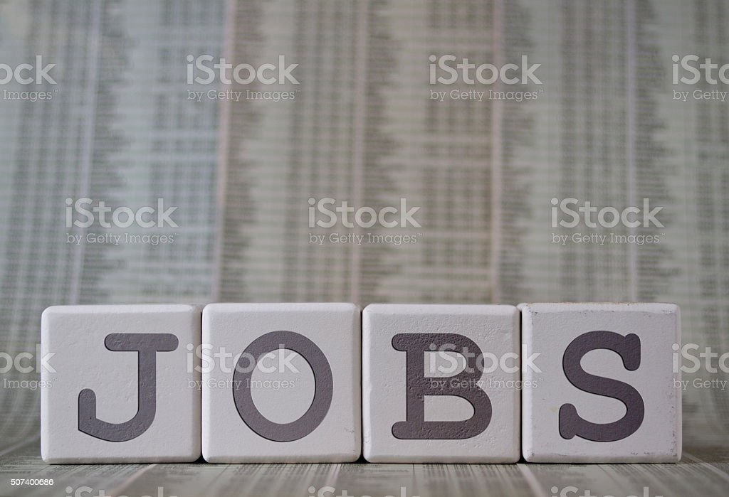 Jobs stock photo