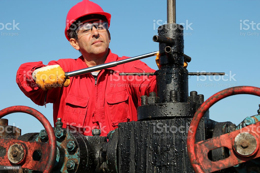 Jobs With the Oil and Gas Industry stock photo