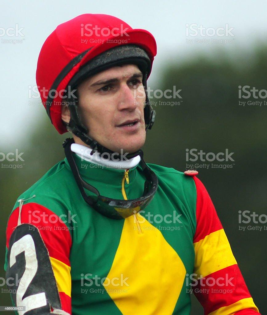 Jockey stock photo