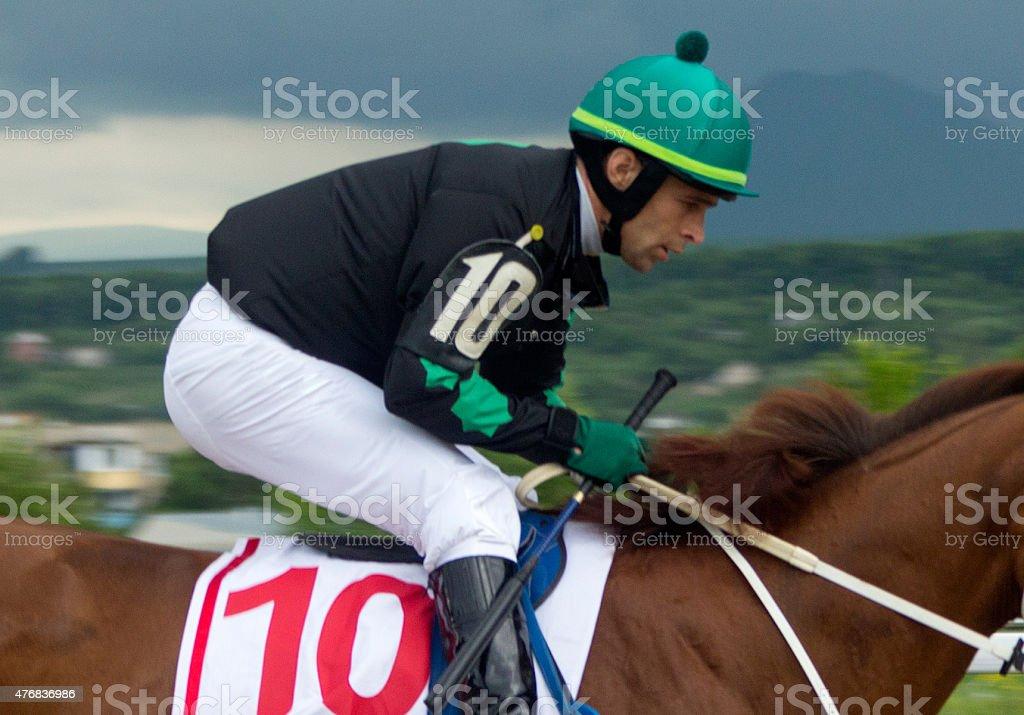 Jockey. stock photo