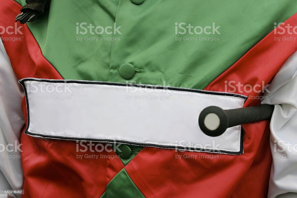 Jockey's Colours stock photo