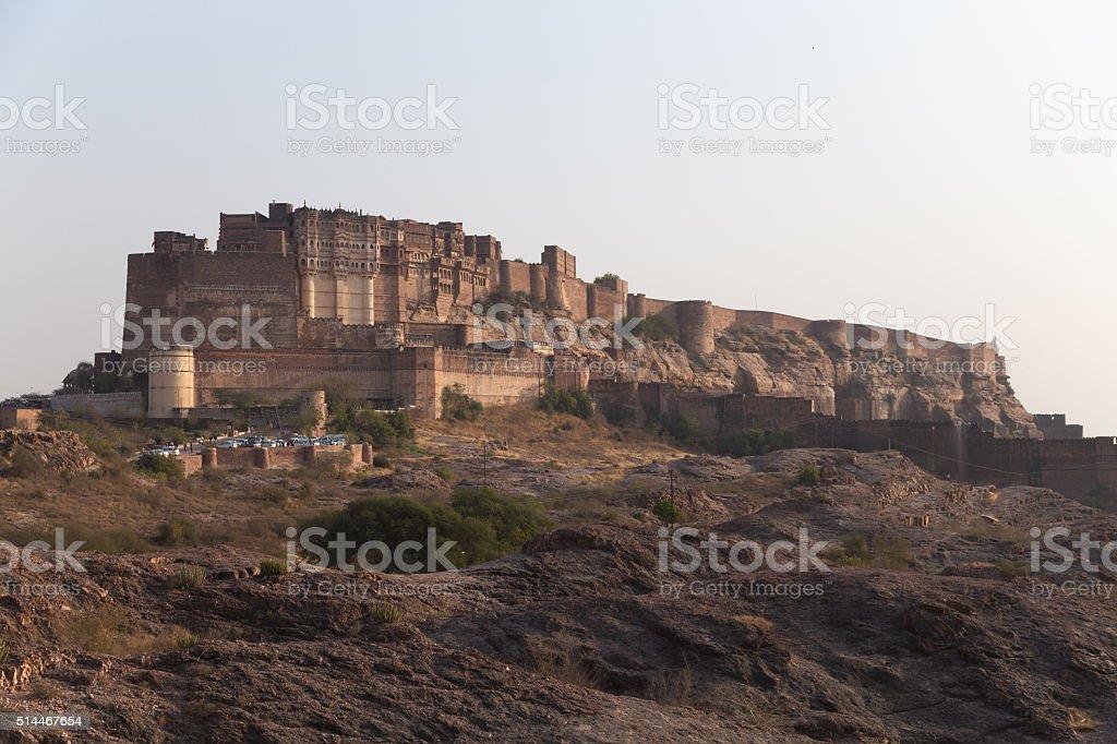 Jodhpur city in Rajasthan, India stock photo