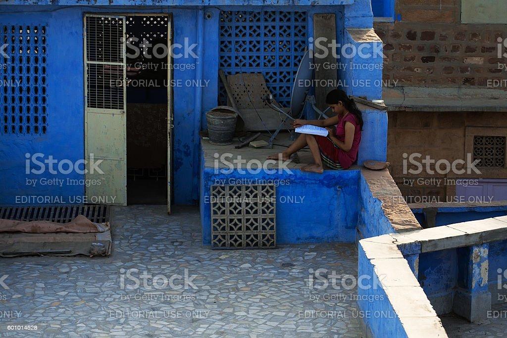 Jodhpur roof stock photo