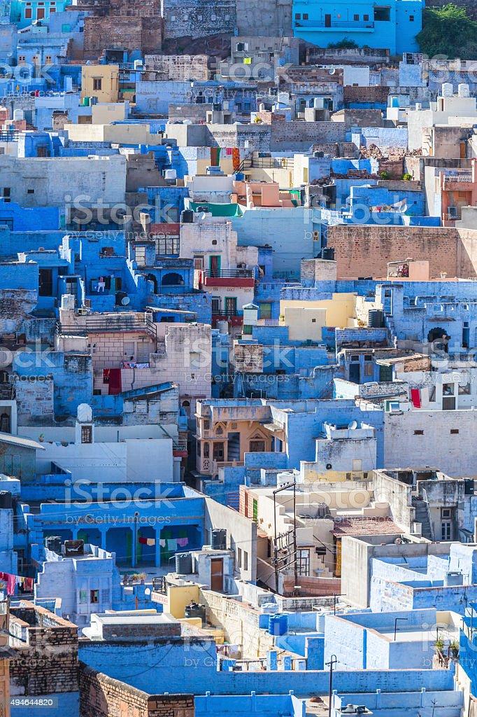 Jodhpur the blue city Rajasthan India stock photo