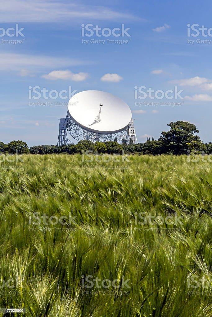 Jodrell Bank, Cheshire stock photo