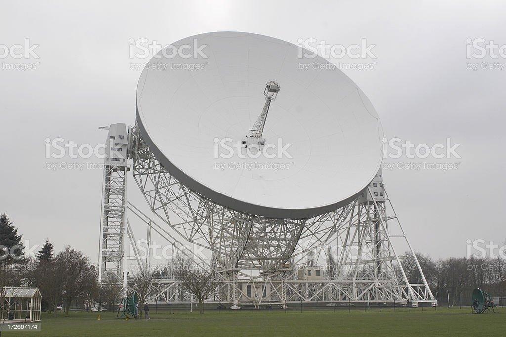 Jodrell Bank Observatory 1 stock photo