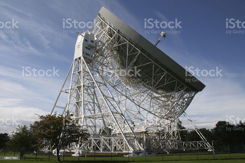 Jodrell Bank Observatory stock photo