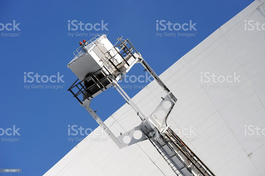 Jodrell Bank Radio Telescope royalty-free stock photo