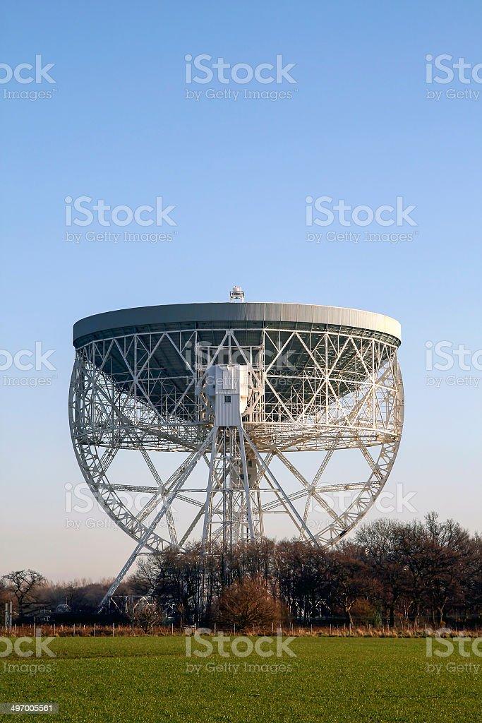 Jodrell Bank Telescope Cheshire stock photo