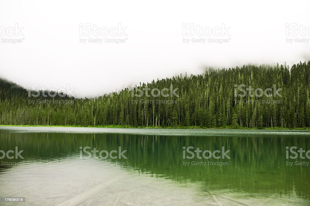 Joffre Lakes, British Columbia stock photo
