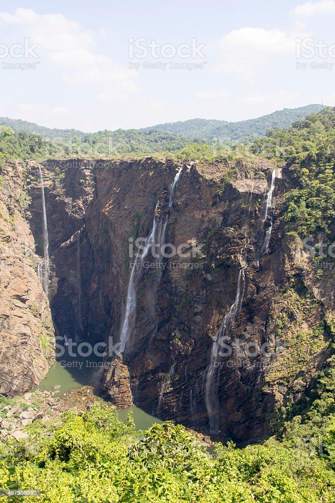 Jog waterfalls, Karnataka, India stock photo