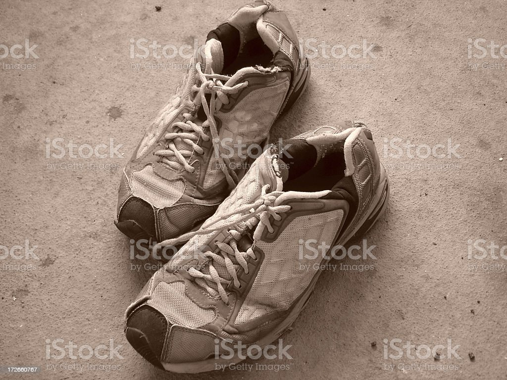Jogging Shoes royalty-free stock photo
