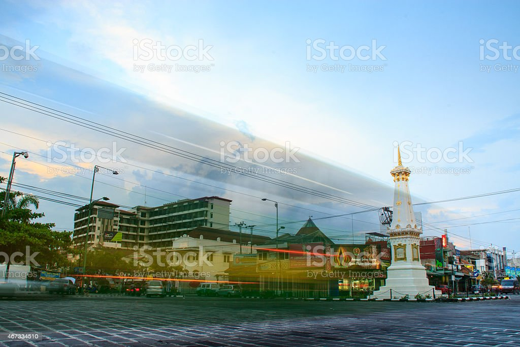tugu jogja stock photo