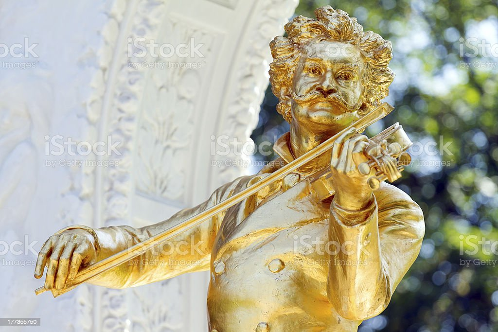 Johann Strauss royalty-free stock photo