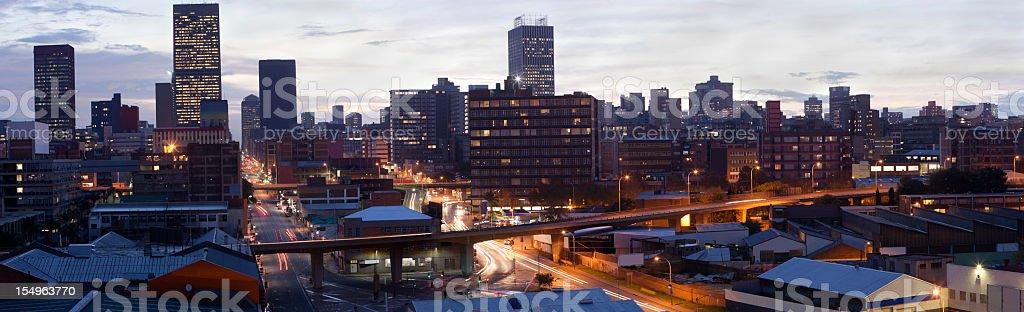 Johannesburg Centre Skyline royalty-free stock photo