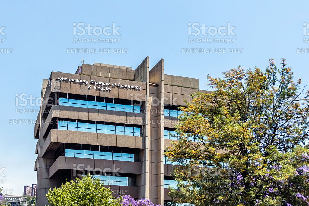 Johannesburg Chamber of Commerce and Industry stock photo
