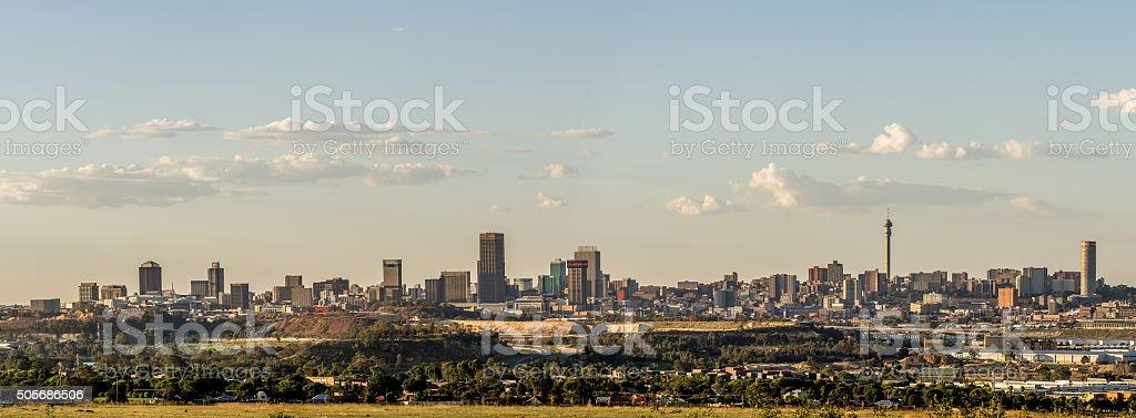 Johannesburg City skyline stock photo