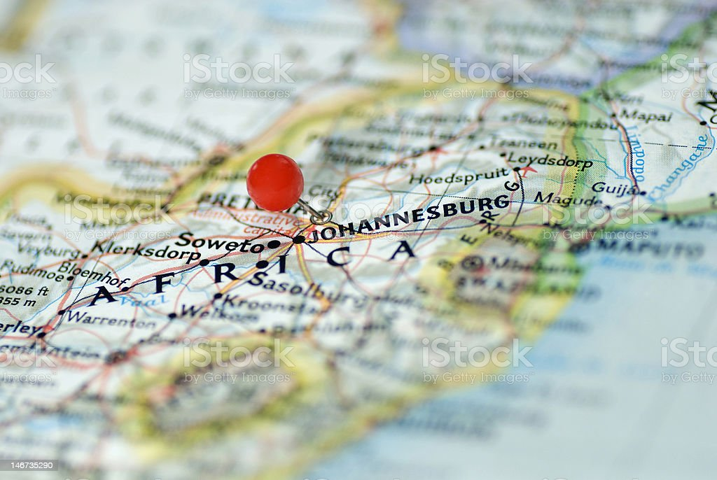 Johannesburg South Africa stock photo