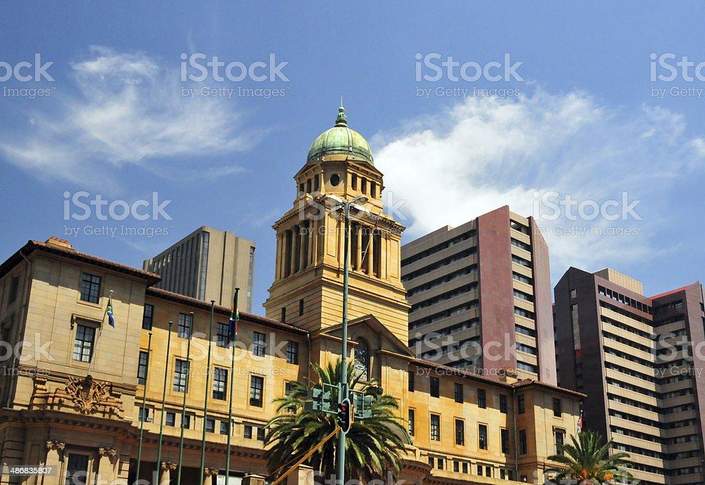 Johannesburg - the Old City Hall stock photo