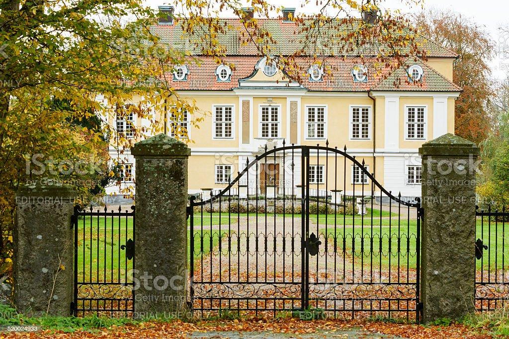 Johannishus castle stock photo