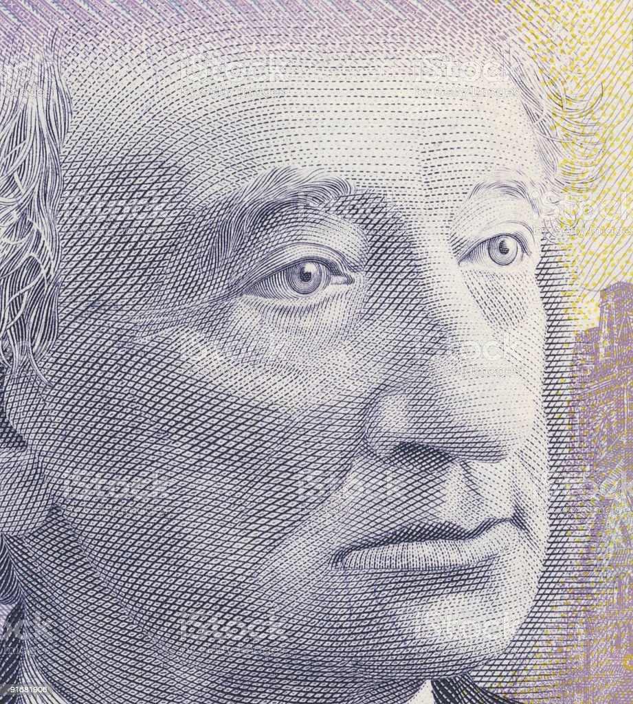 John A. MacDonald stock photo