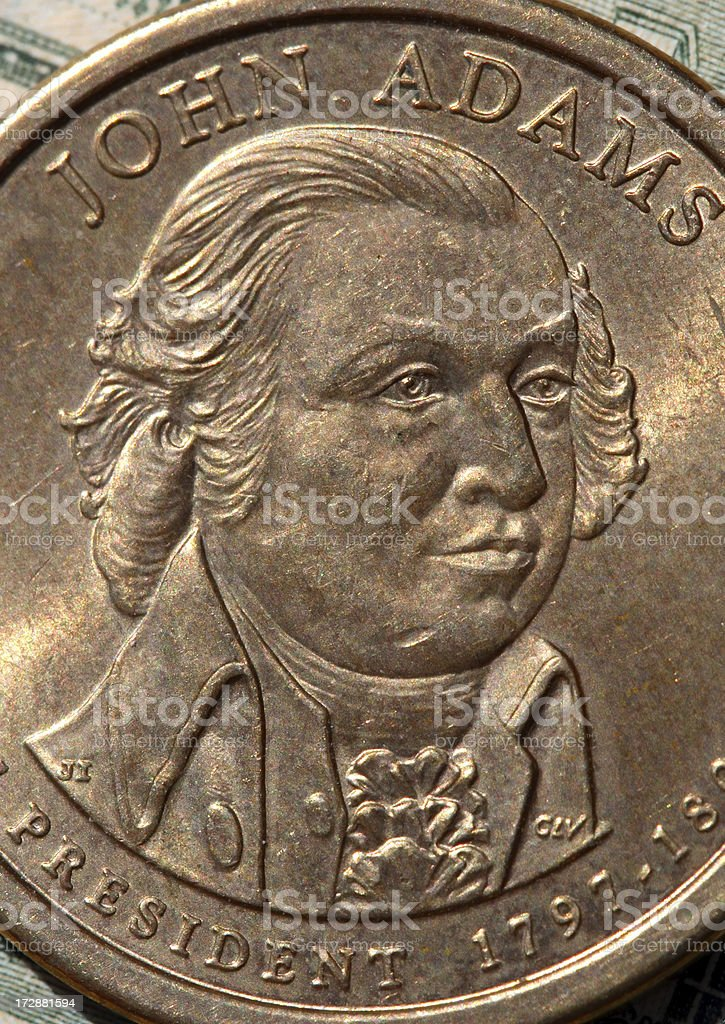 John Adams stock photo