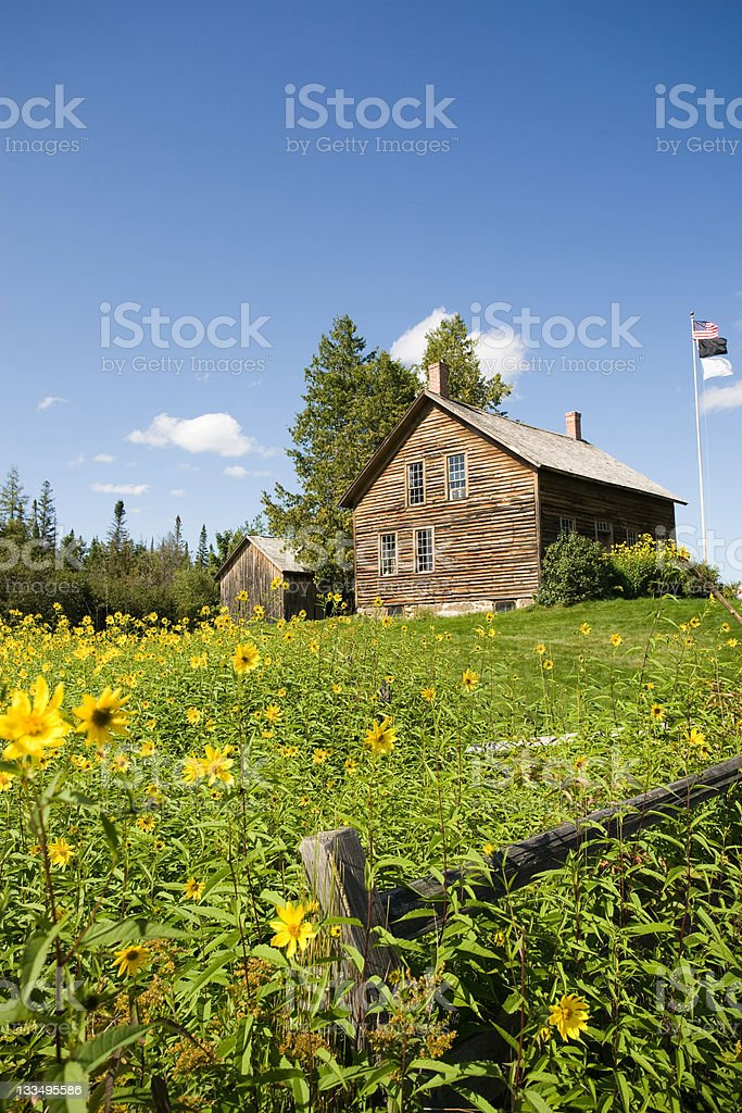 John Brown's farm stock photo
