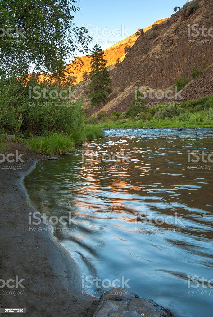 John Day afternoon stock photo