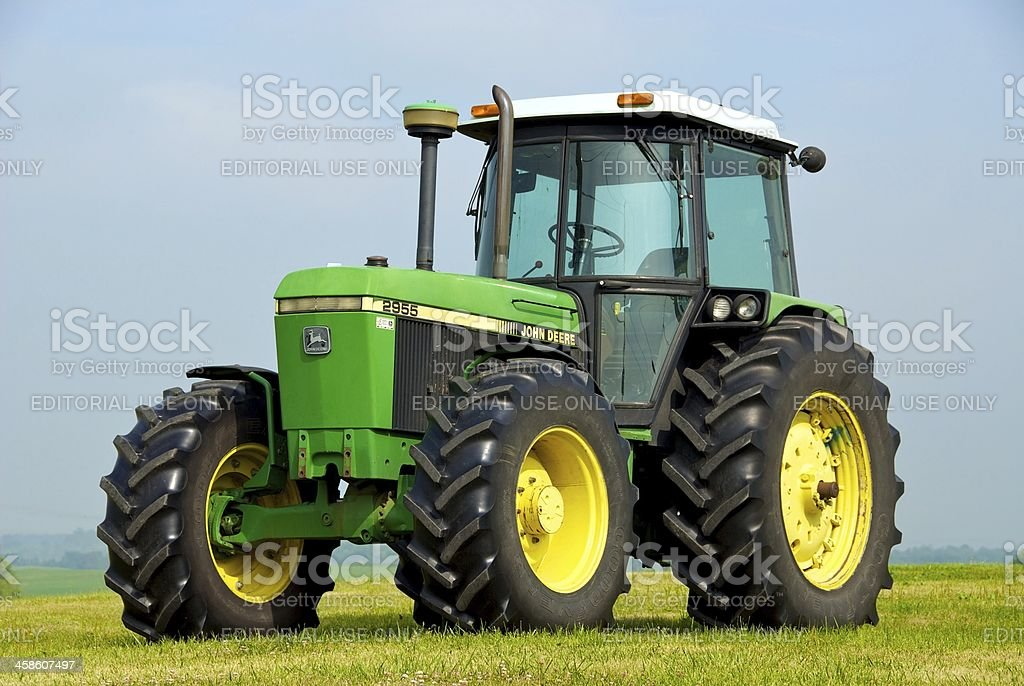 John Deere Tractor stock photo
