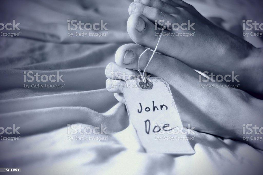 John Doe stock photo