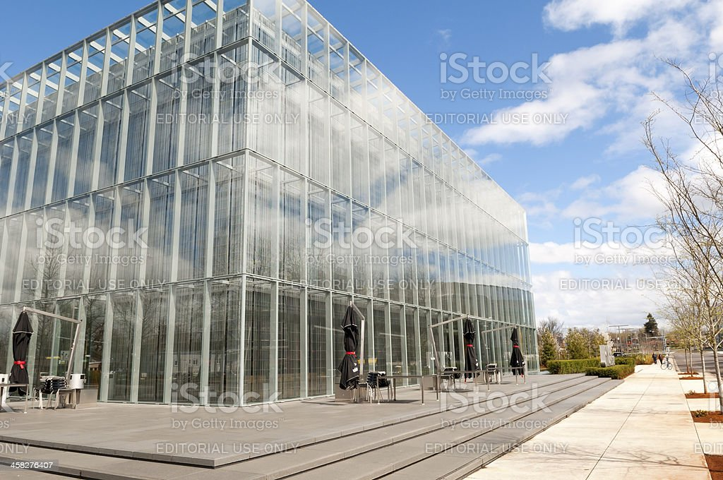 John E. Jaqua Center for Student Athletes royalty-free stock photo