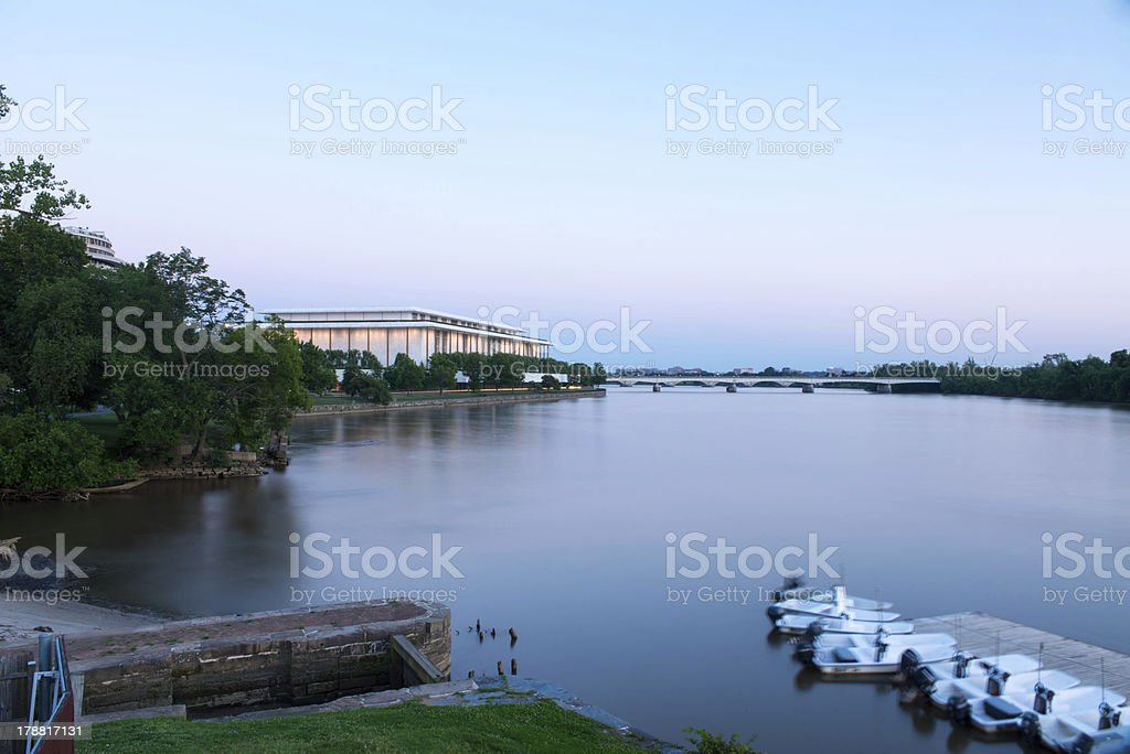 John F Kenedy Center for the Performing Arts royalty-free stock photo