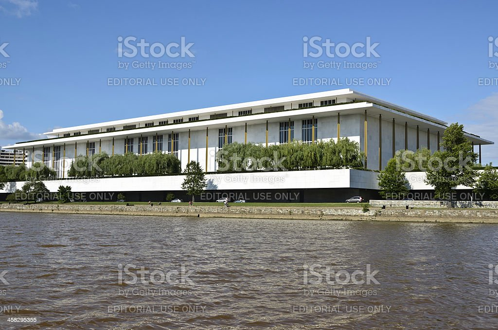 John F Kennedy Center For The Performing Arts royalty-free stock photo