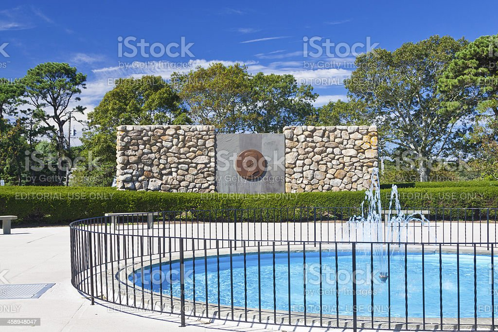 John Fitzgerald Kennedy Memorial, Hyannis, Cape Cod royalty-free stock photo