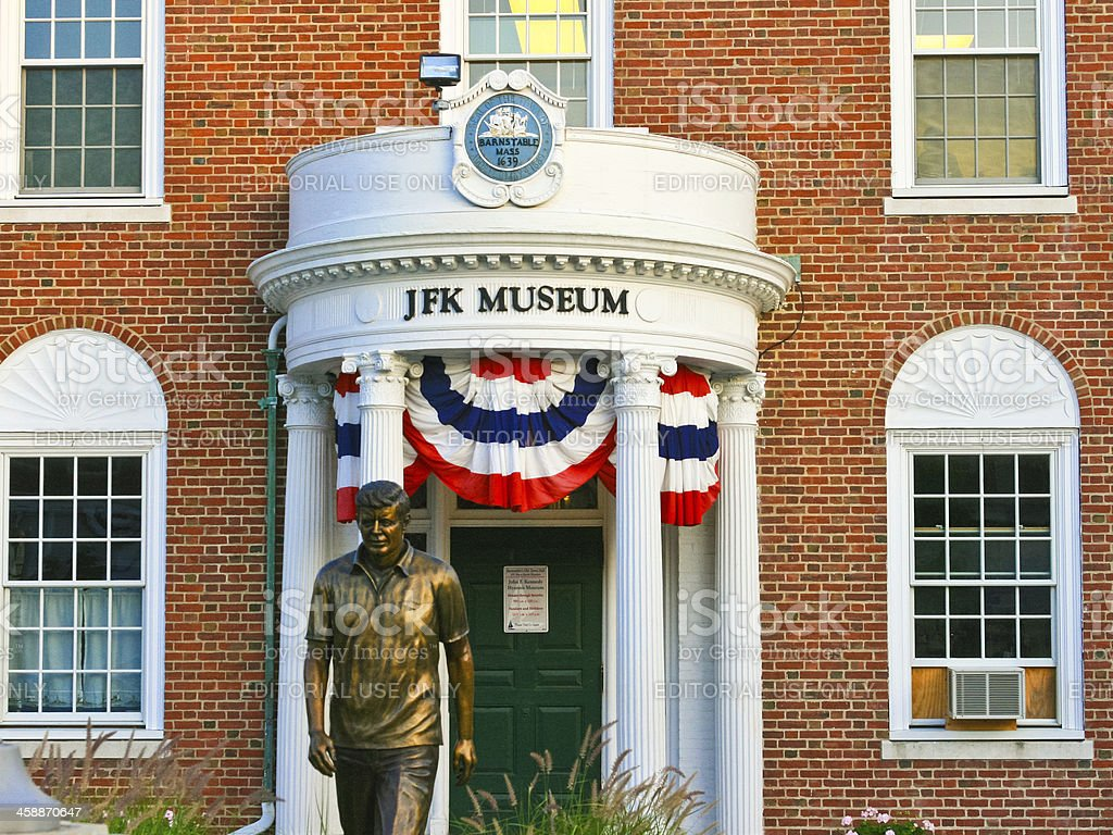 John Fitzgerald Kennedy Museum royalty-free stock photo