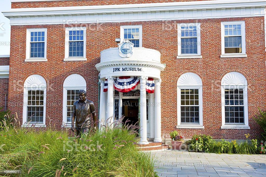 John Fitzgerald Kennedy Museum royalty-free stock photo